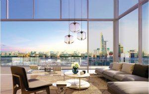 Thiết kế sang trọng với view toàn cảnh thành phố của Millennium